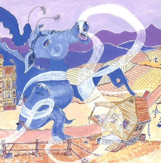 From Wind Dragon by Janet Hayward Burnham
