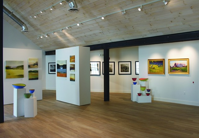 Edgewater Gallery in Stowe - COURTESY OF EDGEWATER GALLERY