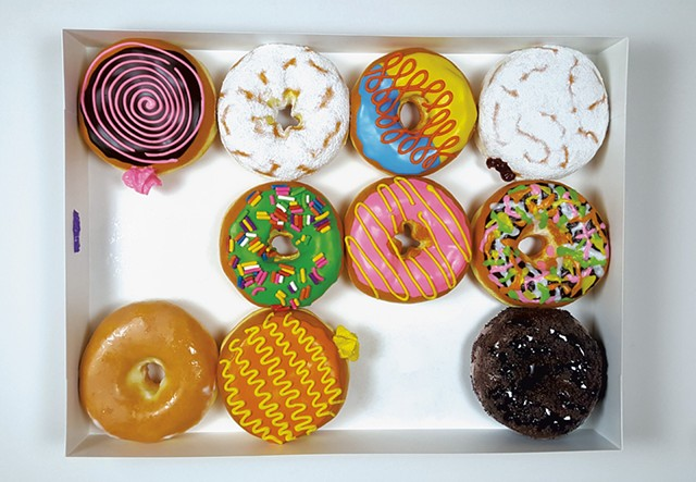 """Creamy Donuts"" by Peter Anton - COURTESY OF UNIX GALLERY/PETER ANTON"