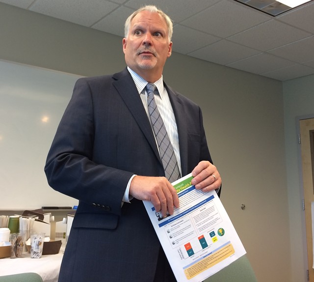 OneCare Vermont CEO Todd Moore - FILE: ALICIA FREESE