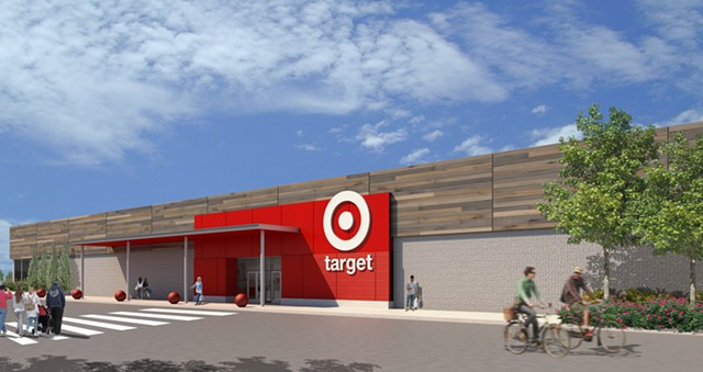 Click To Enlarge A Rendering Of The New Store   COURTESY OF TARGET