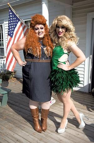 Emoji Nightmare (left) and Nikki Champagne - COURTESY OF TYNE BECHTOLDT