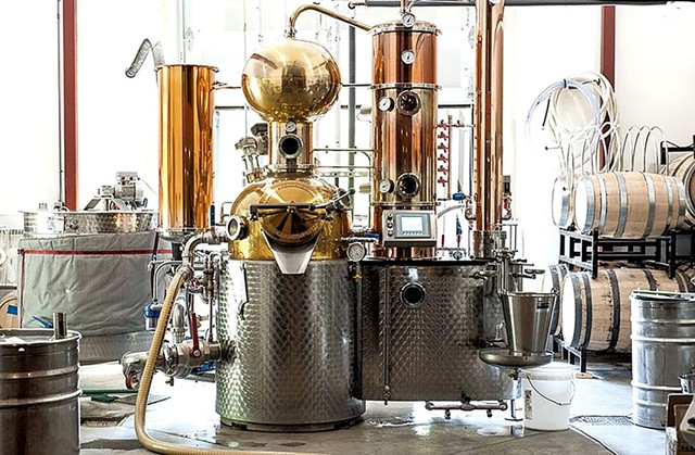 Mad River Distillers - COURTESY OF MAD RIVER DISTILLERS