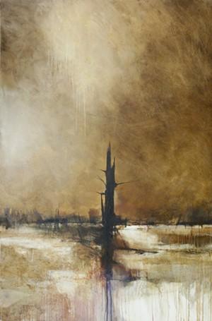 """Beaver Pond in Winter"" by Charlie Hunter"