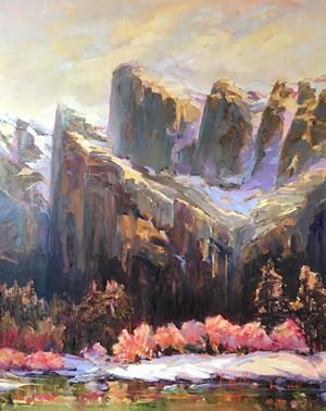 """""""Cathedral Peaks"""" by Joan Hoffmann"""