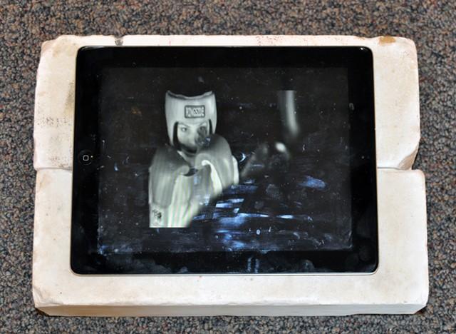 Untitled video by Sandra Pérez - COURTESY OF MCCARTHY ART GALLERY