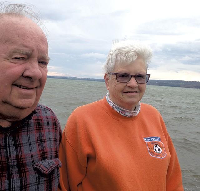 Dick and Cheryl Benton - MOLLY WALSH