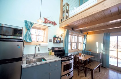 Burlington Homeowner Turns Old Outbuildings Into a Sweet Airbnb Pad