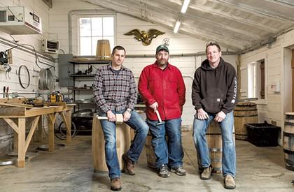 In Richmond, Three Army Vets Bring Back Barrel-Making
