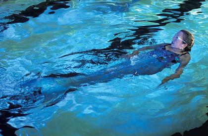 Swimming Like a Mermaid