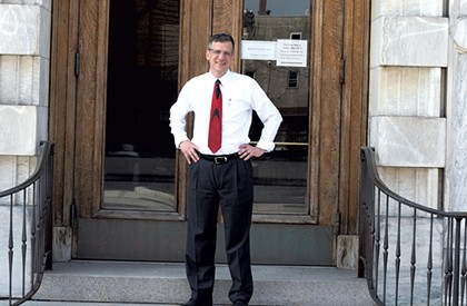 After Fighting for Refugees, Louras Battles to Remain Rutland's Mayor
