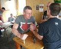 Pulling with Bill Sinks, an Arm Wrestling Legend  [SIV480] (3)