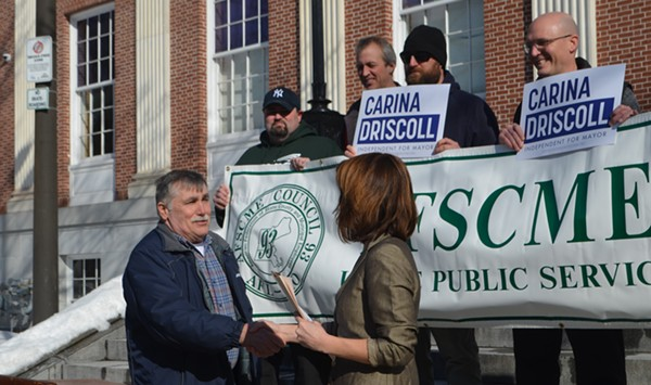 Union Members Dispute Claim of 'Unanimous' Driscoll Endorsement