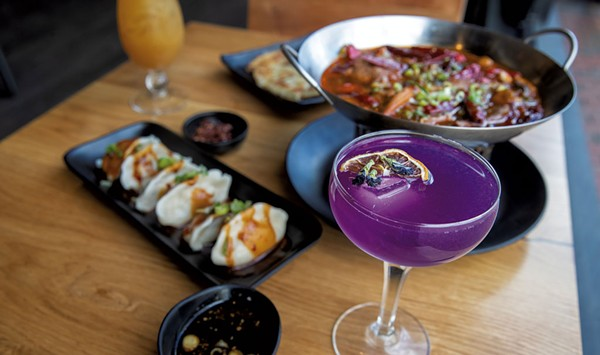 Go for the Cocktails, Stay for the Food at Mandarin