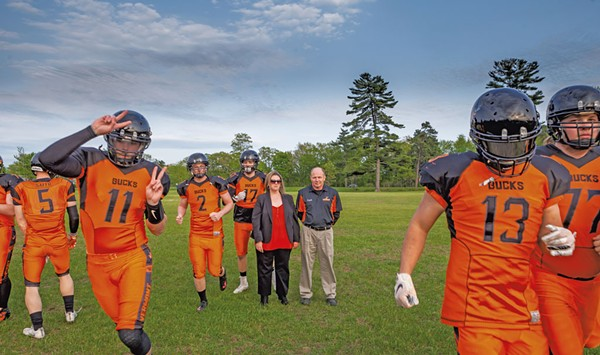 The Mighty Bucks: Pro-Football Dreams Lead Vermonters to a Humble Arena