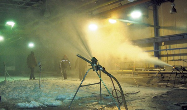 UVM Partners With U.S. Army's Cold Regions Research Lab in New Hampshire