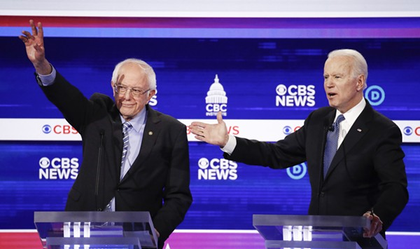 At S.C. Debate, Sanders Feels the Fire But Doesn't Get Berned