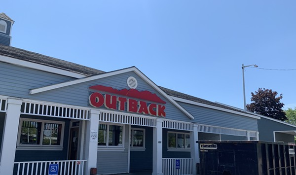 Closed: Outback Steakhouse and Vermont Sandwich Company