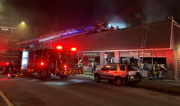 Fire Causes $1 Million in Damage at Burlington's Pearl Street Beverage