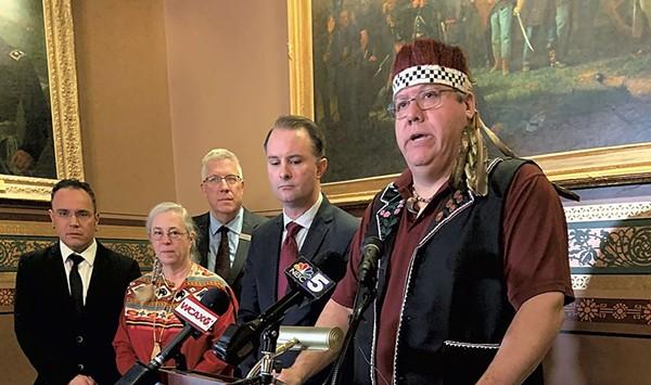 Scott Signs Bill Recognizing Abenaki Hunting, Fishing Rights