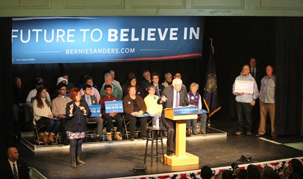 'Live From New York, It's Bernie Sanders!'