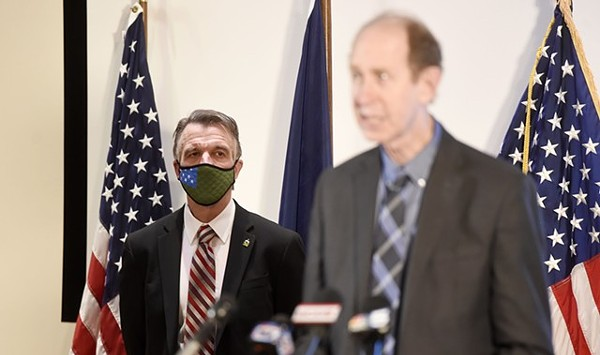 Scott to Quarantine After Potential COVID-19 Exposure at Press Conference