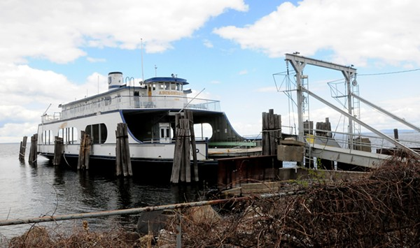 Company Scraps Plan to Scuttle an Obsolete Ferry in Lake Champlain
