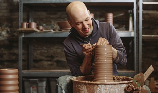 Potter Jeremy Ayers Fends Off Corporate Copycat