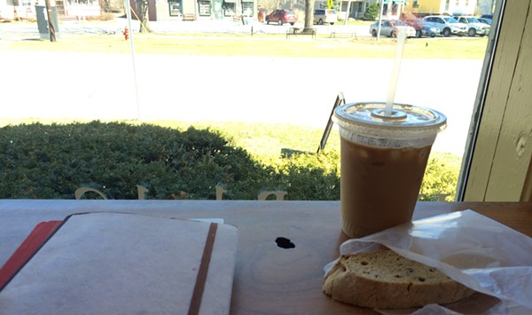 Breakfast Club: Maple Walnut Biscotti at Village Wine and Coffee