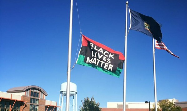 Days After Black Lives Matter Flag Theft at UVM, Students to Gather