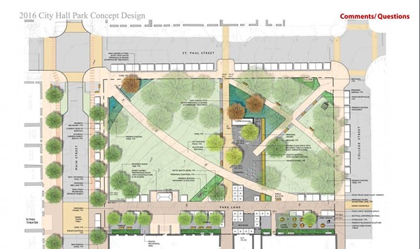Burlington Solicits Feedback for Redesign of City Hall Park
