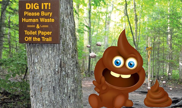What a Waste: Human Poop Plagues the Adirondack High Peaks