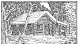 Mike Biegel Creates House Portraits With Pen and Soul