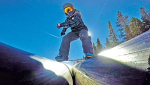 Born to Ride: A Young Teen Spins and Soars to Snowboard Success