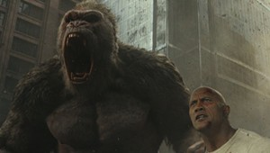 Movie Review: Dwayne Johnson Takes Viewers on a 'Rampage' Through an Idiotic Giant-Monster Flick