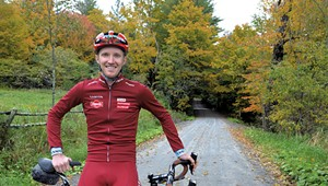 Pro Cyclist Ian Boswell Creates Home, and Fall Fondo, in Peacham
