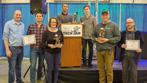 Social Sentinel, Burlington Code Academy and Maureen McElaney Win Awards at 12th Vermont Tech Jam
