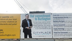 Do the Signs Around CityPlace Construction Site Violate Billboard Law?