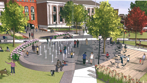 Burlington City Council Approves Funding for City Hall Park Renovation