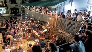 Musical Oasis the Waterhole Rocks Saranac Lake
