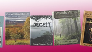 Page 32: Short Takes on Five Vermont Books