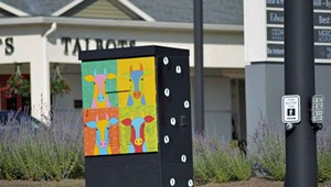 Who's Behind the Artwork on South Burlington's Utility Boxes?