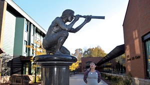 The College Named After Samuel de Champlain Debates Whether to Keep His Statue