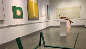 Art Review: 'Color Fields: 1960s Bennington Modernism'