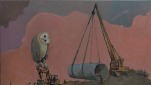 Art Review: 'Travis Shilling: Tyrannosaurus Clan,' BCA Center