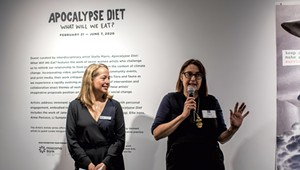 Talking Art: Stella Marrs on 'Apocalypse Diet,' Artists and Climate Change