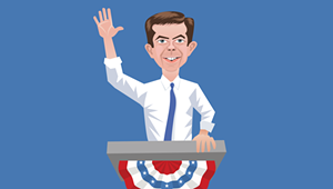 My Husband Has the Hots for Pete Buttigieg