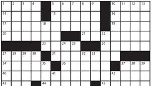 "Crossword: ""Alternative A.C."" (4/8/20)"