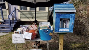 Puzzles, Books, DVDs: At Burlington Yard Stand, Take Them or Leave Them