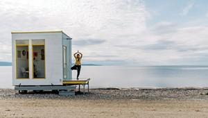 Up End This Creates Tiny, Sustainable Rooms on Wheels